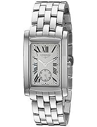 Longines Men's Quartz Stainless Steel Watch, Color Silver-Toned (Model: L56554716)