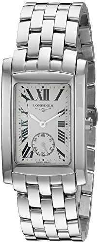 Longines Stainless Steel Wrist Watch (Longines Men's Quartz Stainless Steel Watch, Color:Silver-Toned (Model:)