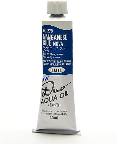 (Holbein Duo Aqua Artist Oil Color (Manganese Blue Nova) 1 pcs sku# 1845971MA)