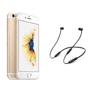 separation shoes b4d33 06bcc Apple iPhone 6s (32GB) - Gold with BeatsX Earphones - Black