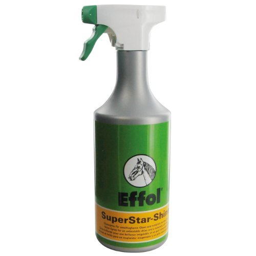 Effol SuperStar Shine 750ml - gives a brilliant shine. Endorsed by 30 leading international (Effol Horse)