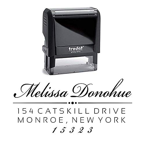 Custom Address Stamp - Self Inking - Return Address Stamp