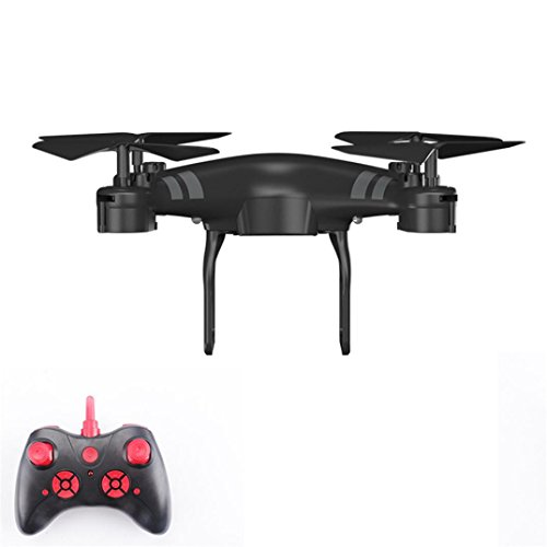Camera Quadcopter Wide Angle Lens 1080P HD RC Drone WiFi FPV 1800Mah Battery Unique High Qulity (Black) by QingFan-Toy