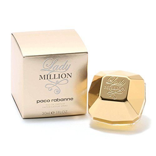 Lady Million Perfume by Paco Rabanne - 1 oz Eau De Parfum Sp