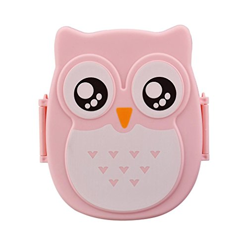 Bento Box,SMTSMT Owl Lunch Box Food Container Storage Box Portable Bento Box (Owl Containers)