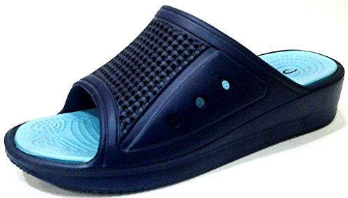 dema - Zapatillas de estar por casa de Material Sintético para mujer azul turquesa 39