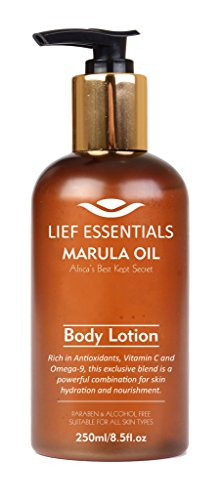 LIEF ESSENTIALS Body Lotion with Pure Organic African Marula Oil Suitable For All Skin Types Cruelty-Free 250 ml from LIEF ESSENTIALS