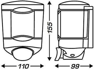 450 ml Hand Sanitizer Dispenser For Glasses Toilet with Push Button JVD