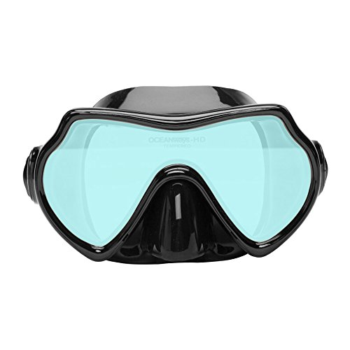 Oceanways Superview - AccuColor w/Anti-Fog Scuba/Spearfishing Dive Mask (OMA836BS) by SeaDive