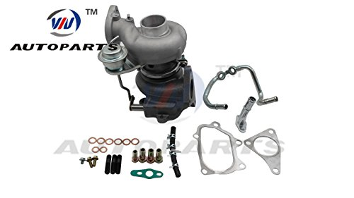 (Turbocharger VF52 & Install Kit for Subaru Legacy, Outback GT 2.5L TD EJ25 Gasoline)