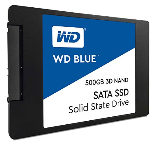 WD Blue 3D NAND 500GB PC SSD - SATA III 6 Gb/s 2.5''/7mm Solid State Drive - WDS500G2B0A by Western Digital