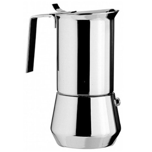 Stainless Steel Stovetop Espresso Makers - One Cup - Ilsa Stainless Steel
