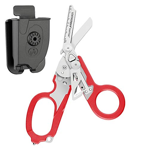 LEATHERMAN - Raptor Shears, with MOLLE Compatible Holster (Red) by LEATHERMAN (Image #4)