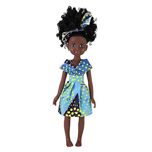 TUSALMO 2019 Newest 15-Inch Miniature Doll Fashion Princess Doll, Lifelike Ethyl Silicone Doll, Children