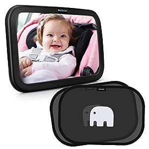 Meinkind espejo retrovisor beb para vigilar al beb en for Espejo retrovisor para vigilar bebe