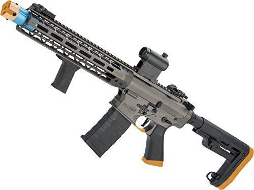 Gray Selector Series - Evike EMG Falkor AR-15 Blitz SBR M4 Airsoft AEG Rifle (Color Falkor Grey/~400 FPS)