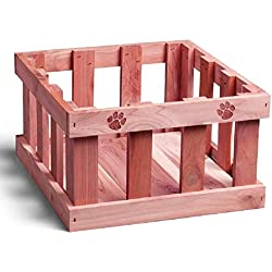 Woodlore Cedar Products Cedar Pet Toy Box