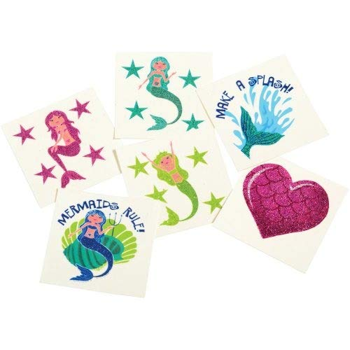 DollarItemDirect Mermaid Glitter TATTOOS/36-PC , Sold by 41 Packs by DollarItemDirect (Image #2)