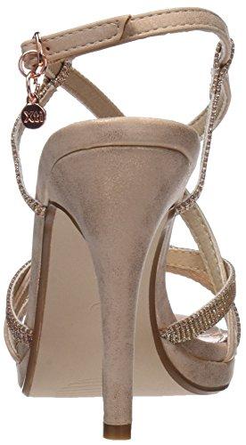 Nude XTI con Rosa Caviglia Donna Cinturino 30695 Sandali alla nx0nO8r