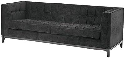 Eichholtz Black Sofa Aldgate