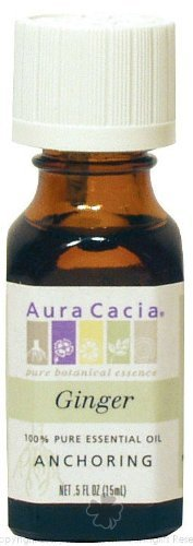 AURA CACIA ESSENTIAL OIL,GINGER, .5 FZ by Aura Cacia