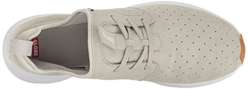 Scarpa Da Skateboard Da Uomo Globe Dart Lyt Light Grey / White