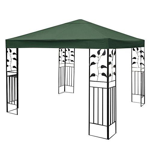 tangkula 10 39 x 10 39 gazebo top cover patio canopy. Black Bedroom Furniture Sets. Home Design Ideas