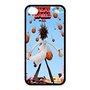 Custom Cloudy With A Chance Of Meatballs Back Cover Case for iphone 4,4S JN4S-513