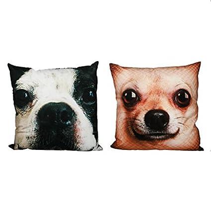 Cojines con Dibujos perros y gatos 100% poliéster Design – perro