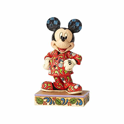 Enesco Jim Shore Disney Traditions Mickey in Christmas