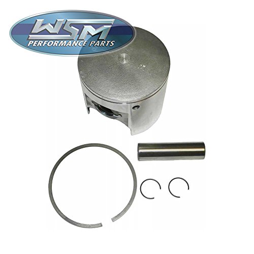1982-1990 Kawasaki JS550 Top End Engine Piston Kit [Bore Size: 75 mm]