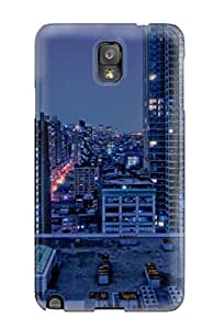 Durable Protector Case Cover With City Hot Design For Galaxy Note 3