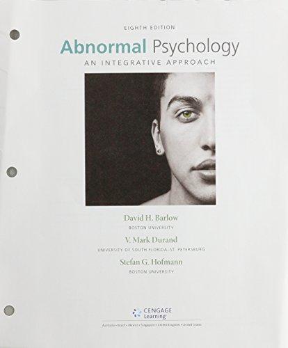 abnormal psychology barlow 8th edition pdf