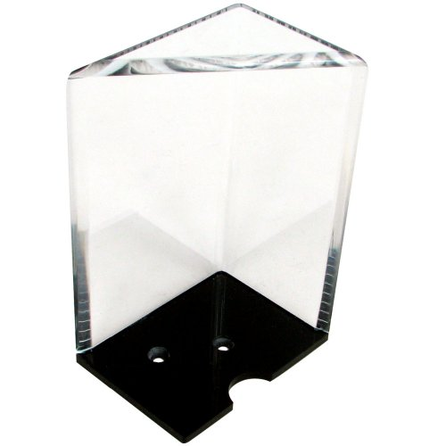 Discard Holder - 8 Deck Professional Grade Acrylic Discard Holder with Top