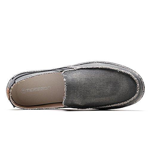 TIOSEBON HK8705, Mocassins pour Homme Taille M - - Hk8712 Deep Grey, 39