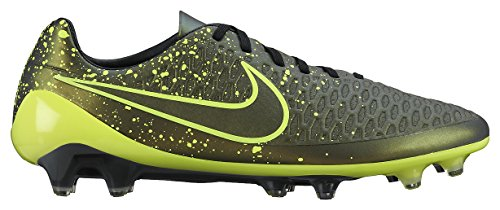 Nike , Herren Fußballschuhe UK Gold / Grün / Schwarz (Dark Citron / Volt-Schwarz-Schwarz)