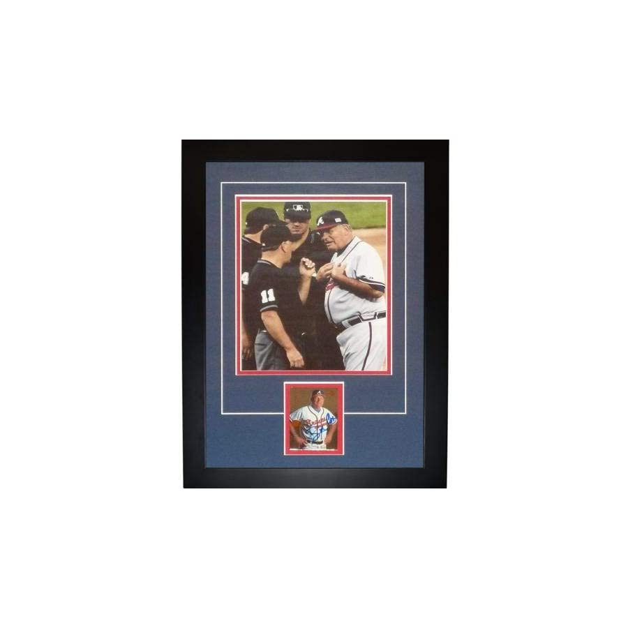 Bobby Cox Autographed Signed Auto Atlanta Braves Signature Series Frame Certified Authentic