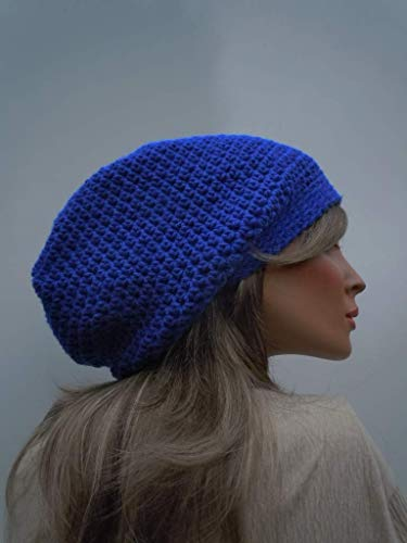 Amazon.com  Royal Blue Slouchy bf0d4434e3b