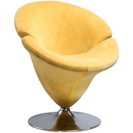 International Design USA Tulip Leisure Chair Yellow