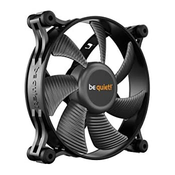 be quiet! Shadow Wings 2 120mm PWM, Silent Computer Fans, Low Noise Operation, Rubber Fan Frame, Designed in Germany