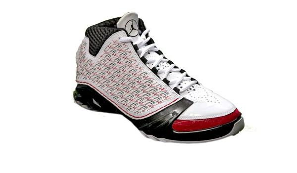 Amazon.com | Nike Air Jordan XX3 Mens Basketball Shoes White/Black ...
