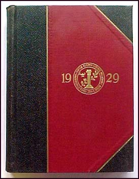 The Lawrenceville School Olla Podrida 1929 Dedicated to Harley Willis Heath ()