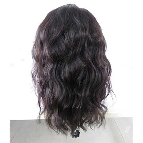 Ten Chopstics Short Human Hair Lace Wig for Black Woman Loose Wave Brazilian Virgin Hair Cheap Lace Front Wigs Glueless Short Bob Full Lace Wig with Baby Hair Natural Wavy On Sale by Ten Chopstics (Image #3)