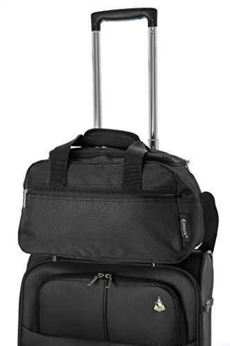 Amazon.com: Airline Approved Flight Bag for Delta United Southwest & More | Underseat Hand Luggage Holdall for Men & Women | Travel Duffel With Large ...