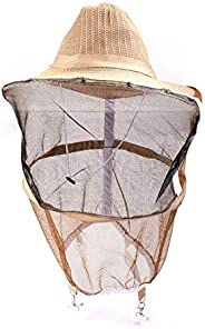 Beekeeping Hat Anti Mosquito Bee Insect Bug Face Head Veil Garden Guard Cowboy Hat
