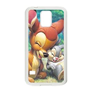 Bambi Protective Case For Samsung Galaxy S5 Cell Phone Case White