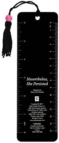 Nevertheless, She Persisted Beaded Bookmark - http://medicalbooks.filipinodoctors.org