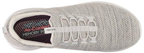 Flex Mesh Nat Natural Scarpe Colore Ultra Skechers Taupe Ginnastica 12840 Donna SIOwxt