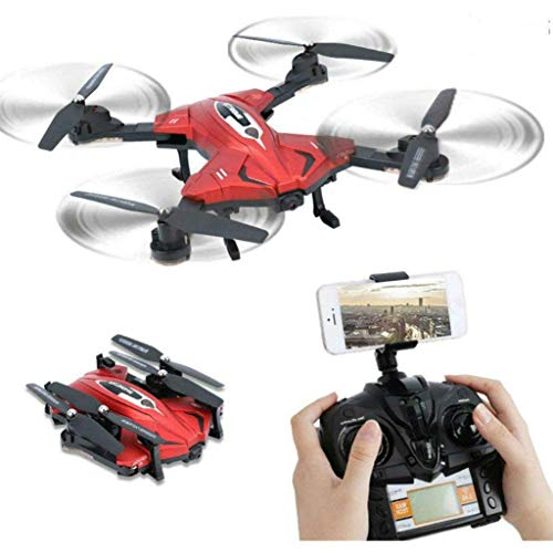 SkyCo RC Foldable Drones Helicopter with Video & Photo Camera Drone,2.4ghz 6-axis Gyro Rc Drones for Kids from SkyCo