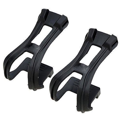 Toe Clips - TOOGOO(R)MTB Road Bike Fixed Gear Cycling Bicycle Strapless Toe ()